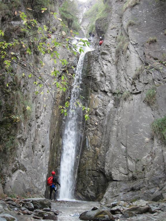 Isola, canyon cascade du Louch