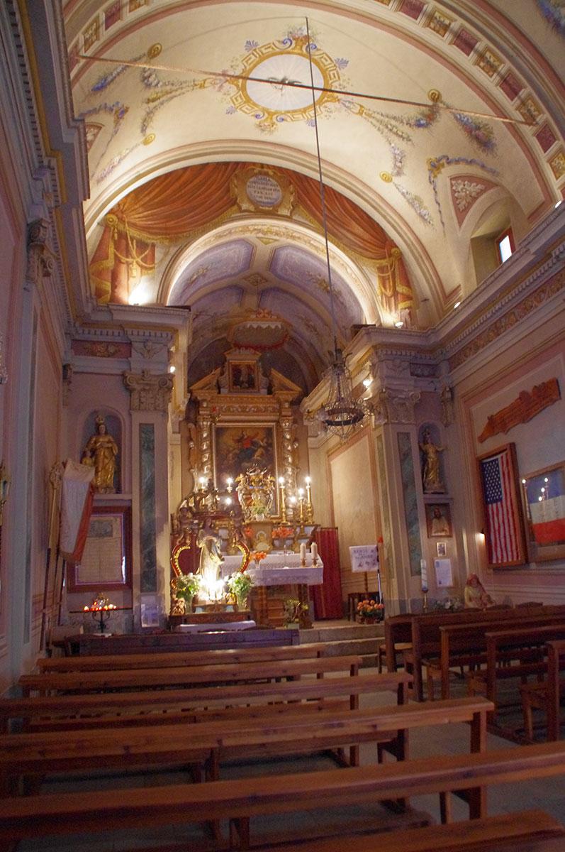 Chapelle Sainte Anne, intérieur - Isola