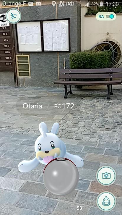 Pokémons à Isola