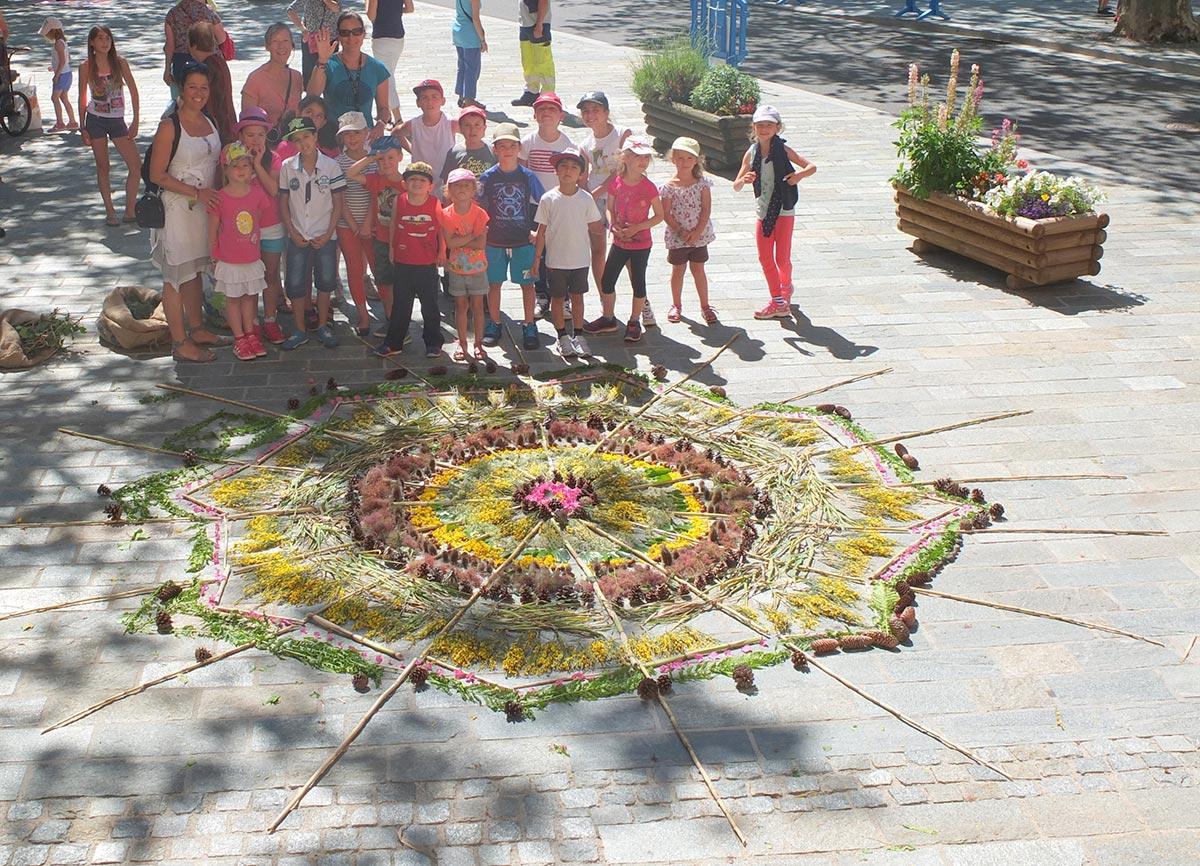 festi vallees isola 2016 enfants oeuvre artistique