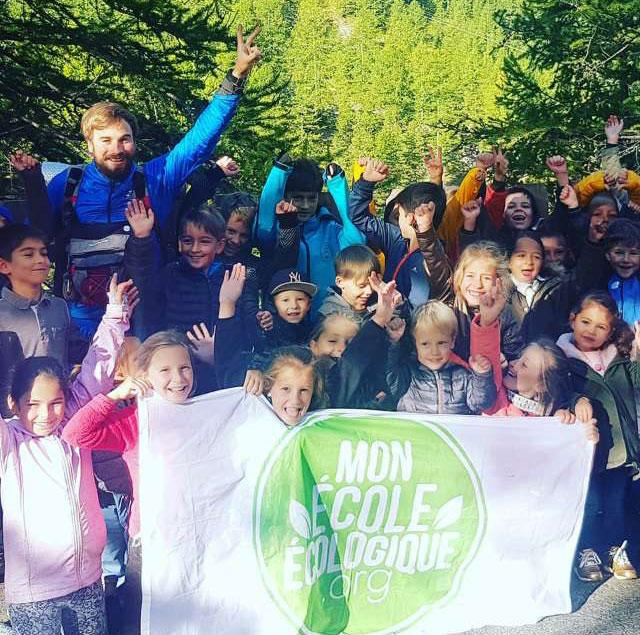 Julien Moreau, l'éco aventurier avec les enfants d'Isola - Septembre 2018