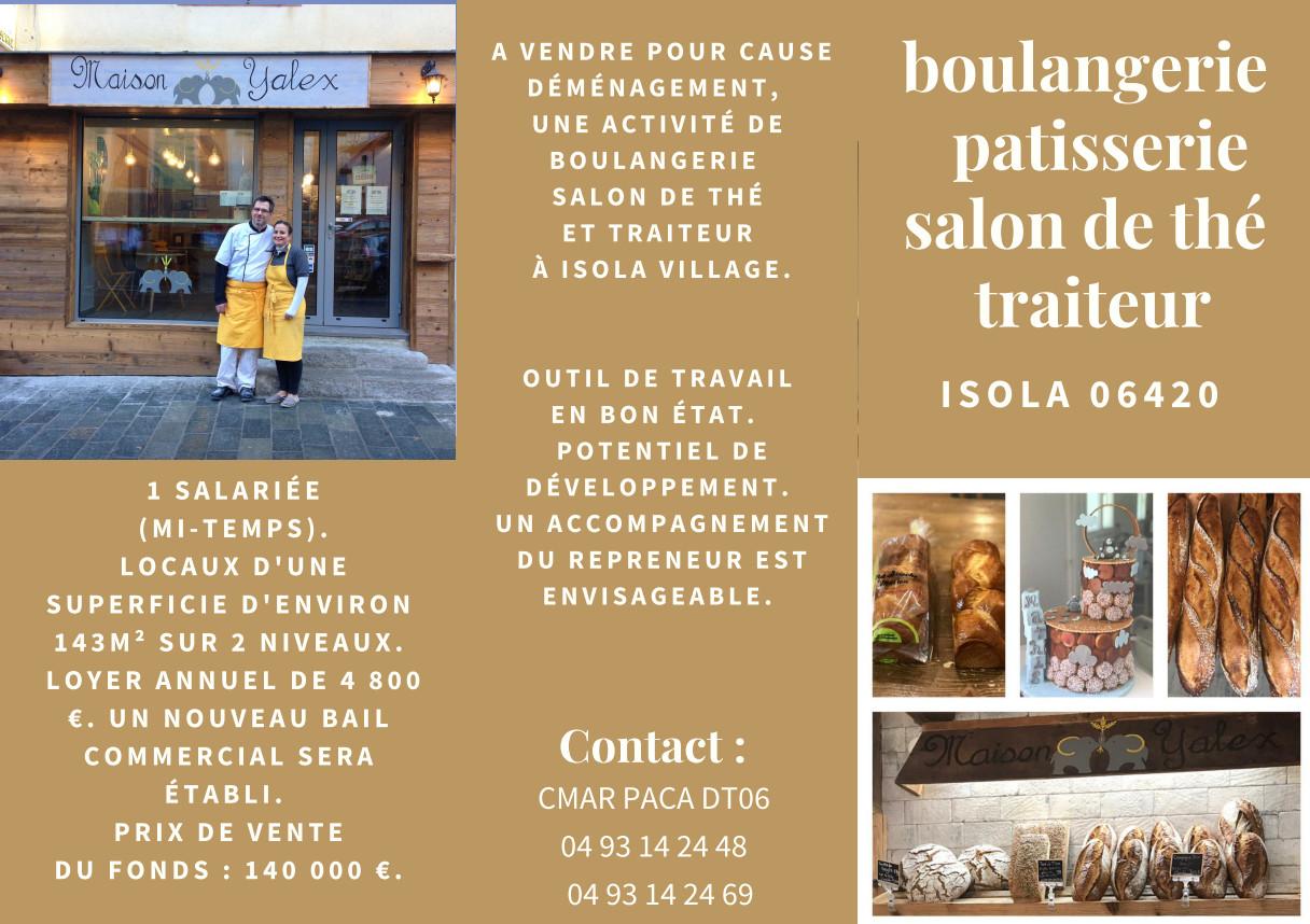 Boulangerie à vendre à Isola Village