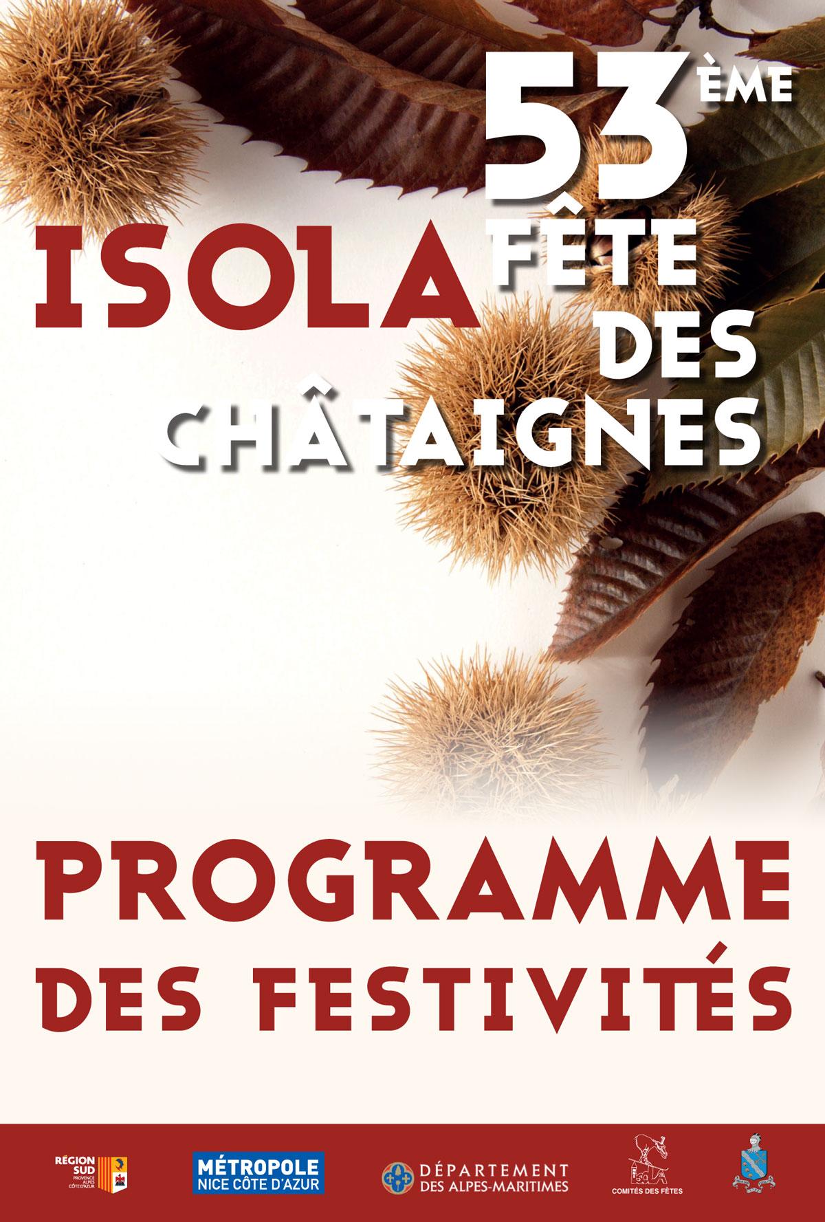 53ème fête des chataignes à Isola